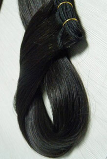 Machine weft indian Straight Hair exporters india