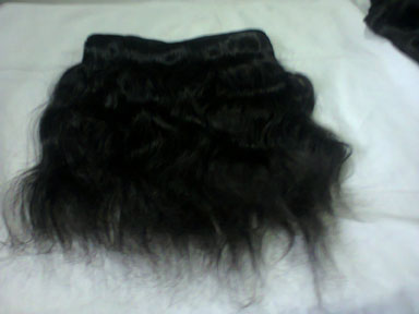bulk hair suppliers india, Machine Weft Wavy Hair suppliers india